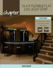 Chapter NEW Daylight LED 16.4ft Flexible Flat LED Light Strip - Indoor/Outdoor