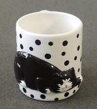 1990 Clay Art Catfish Series Coffee Tea Cup Mug EUC