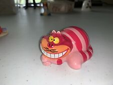 """Walt Disney Productions Cheshire Cat Porcelain Figurine Japan Vintage 3"""" Long"""