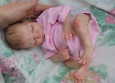 "SORRY SOLD/ORDERS TAKEN Reborn baby preemie 14""2lb12 Rosebud JosyNN Josy Nursery"