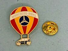 Mercedes Benz Pin Hot Air Balloon A-Class Enamelled Red-Orange Dimensions - 0