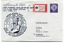196? USNS Marine Fiddler T-AK267 New York Sealift Security Polar Cover SIGNED