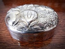 The Jewelry Place Hand Crafted Dresser/Jewelry Silverplate Box