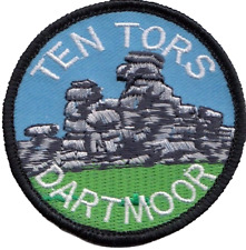 Ten Tors Dartmoor Devon County Embroidered Patch Badge