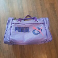 80's Retro Vintage Puma Fitness Sports Duffle Gym Bag.