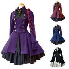 Women's Renaissance Lolita Dress Retro Medieval Fancy Dresses Cosplay Costume AU