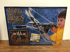 URUK-HAI CROSSBOW SET ToyBiz Lord of the Rings ROTK ~ Factory Sealed Clean Box!