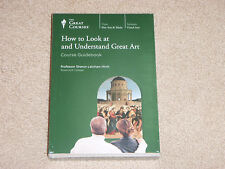 Teaching Co Great Course How to Look at and Understand great Art NEW DVD
