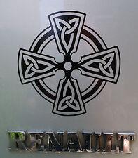 Celtic Cross pagan gods myths stickers/car/van/bumper/window/decal 5111