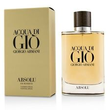 Acqua Di Gio Absolu Giorgio Armani 4.2 Oz 125ml EDP Spray For Men