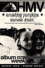 "24/7/93PGN37 SMASHING PUMPKINS : SIAMESE DREAM ADVERT 15X11"""