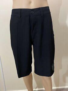 Metal Mulisha Men's Black Restricted Hybrid Walkshort Boardshort Size 28