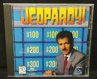 Jeopardy!  - PC Game CD ROM Disc, Case Mint Disc, Manual
