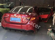 Carbon Fiber Trunk Spoiler Wing for Alfa Romeo Giulia 2016 2017 QV Style