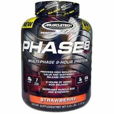 MUSCLETECH PHASE8 Performance Series 2kg PHASE 8 Hr PROTEIN POWDER Strawberry