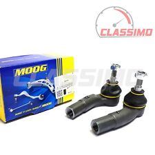 Moog Track Tie Rod End Pair for FORD FIESTA Mk 6 + FUSION + MAZDA 2 DY - 2002-09