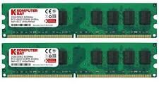 Komputerbay 4GB 2X 2GB DDR2 800MHz PC2-6300 PC2-6400 DDR2 800 (240 PIN) DIMM