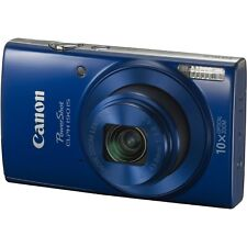 Canon PowerShot ELPH 190 IS 20MP 10x Zoom Wi-Fi HD Video Digital Camera Blue