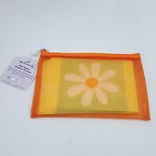 Hallmark Orange Note Pouch With 10 Blank Notes & Envelopes New