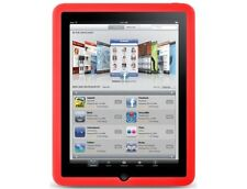 Silicone Protector Cover Case Red For Apple iPad