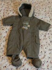 Mothercare Babygrow/Jump Suit imbottito con gli Stivali età 3-6 mesi