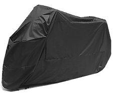 XXL Universal Black Waterproof Anti-wind UV Rain Snow Motorbike Motorcycle Cover