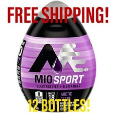 12 Bottles sport MIO ARCTIC GRAPE liquid Water Enhancer. 1.62 Oz Per Bottle.