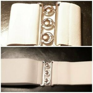 Belt by 'Hell Bunny' Stretchy, 1950's style poly/elastin, metal buckle, size S