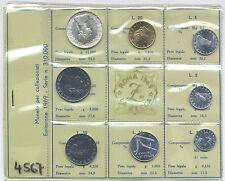 SERIE ZECCA 1969 - CON 500 LIRE ARGENTO - PREZZO REGALO...!!!!