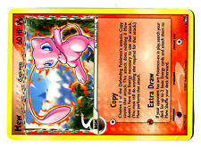 PROMO POKEMON POP Serie 5 N°  3/17 MEW RARE (NON HOLO VERSION) Ultra rare (2007)
