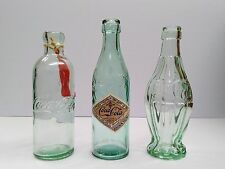Coca-Cola Evolution of Bottles (3 Reproductions) - BRAND NEW