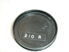 60mm front lens cap , SLIP ON 58mm filter size lens, plastic, vintage, Germany