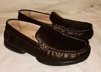 NORDSTROM Kids Boys Size 6M Youth Brown Slip-On Loafers Shoes - Sz.13M