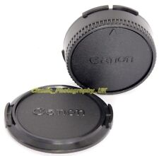 Copriobiettivo Canon C-55 + Canon FD POSTERIORE Copriobiettivo NO.4 per Canon 1.4/50 Canon 24 mm