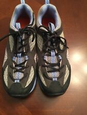 WOMEN'S MERRELL ATHLETIC TRAIL SHOES SIZE 7 ORTHOLITE AIR CUSHIONED Dark Shadow