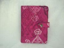 Vera Bradley Travel Passport Wallet in Stamped Paisley Multi-Color floral $31