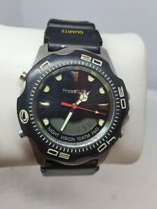 Mens Freestyle 412 Watch Shark X 75001 A126-04 Night Vision