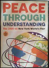 1964 65 New York World's Fair documentary DVD set - PEACE THROUGH UNDERSTANDING