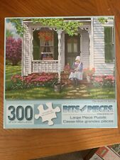"Bits and Pieces 300 Piece Jigsaw Puzzle ""The Scent of Spring"" Complete"