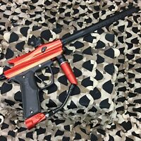 *USED* Azodin Kaos 2 Paintball Gun Marker - Red/Black