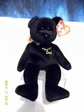 """TY BEANIE BABY- """"THE END"""" BEAR 1999, WITH ERROR AND FLAT TUSH TAG"""