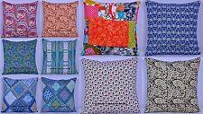 "10 PC LOT Cotton Cushion Throw Pillow Case Cushion Cover Bed Sofa Home Decor 16"""