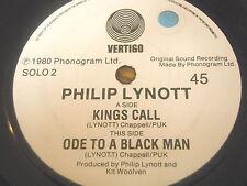 """PHILIP LYNOTT - KINGS CALL     7"""" VINYL"""