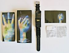 Vintage NOS Fossil Wristwatch Motorola StarTac PR1122 Watch Black Phone NIB NWT