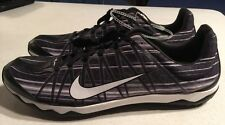Nike Zoom Rival XC Track Running Cleats Black/White 605506-014 US 12.5-New