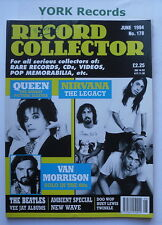 RECORD COLLECTOR MAGAZINE - Issue 178 June 1994 - Queen / Nirvana / Van Morrison