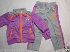 NIKE BABY GIRLS 2 PIECE TRICOT JACKET & PANTS  SET SIZE 4 NEW WITH TAG