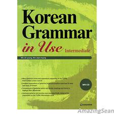 Korean Grammar in Use with MP3 CD Intermediate Korea Text Book Educational BO13