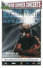 MICHAEL FRANTI SPEARHEAD 2012 Gig POSTER Bend Oregon Concert