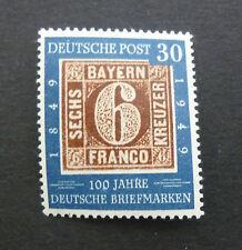 Bund 115** f 19  100 J. Briefmarken Plattenfehler Schantel geprSchlegel